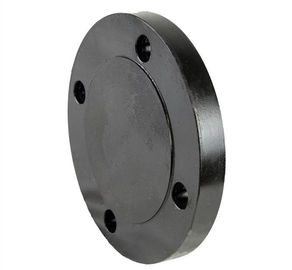 Blind Forged Steel Flanges 150 # 4 Inch Raised Face Carbon Steel Material ASTM A105 ASME B16 5