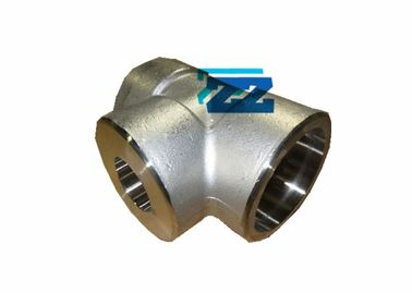 "2 "" X 1 "" 3000 # Forged Steel Pipe Fittings , ASTM A350 LF2 Socket Weld Reducing Tee"