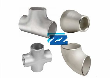 "4 "" / 6"" Ss Pipe Fittings , ASTM A403 ASME B36 19 Stainless Steel Buttweld Fittings"