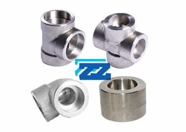 Forged Duplex Steel Pipe Fittings , ASTM A182 F55 Weld On Pipe Fittings