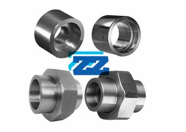 Screwed Socket Weld Tube Fittings , Stainless Steel High Pressure Pipe Fittings
