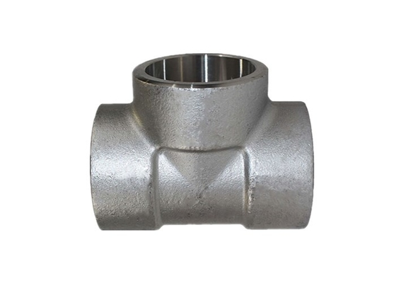 Carbon Steel Socket Weld Tube Fittings Equal Tee / Unequal Tee ASME B16.11