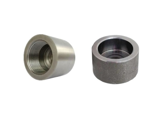 "A105 / A350 Steel Pipe Caps Forged 1/8"" - 4"" Diameter Stable Connection"