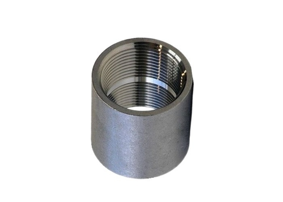ASME B16.11 A105N Threaded Full Coupling NPT X BSPT Galvanized Steel Coupling