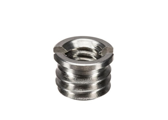Male Thread Industrial Pipe Fittings Flush Bushing BSPP Stainless Steel ASTM A182 F304