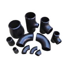 ASTM 234 Butt Weld Tube Fittings Alloy Steel Pipe Fittings Black Color