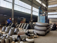 China Carbon Steel Pipe Fittings ASTM 234 Butt Weld Fittings ASME B16.9 company