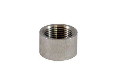 China Stainless Steel NPT Half Coupling , Anti Rust Oil Half Inch Coupling For Petroleum factory
