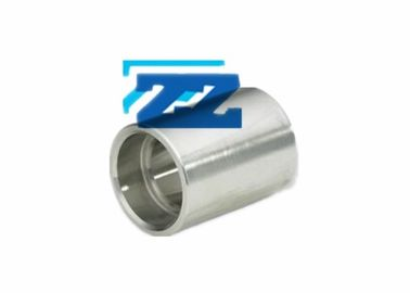 "China 6000 LB 1 / 2 "" Stainless Steel Pipe Coupling , ASTM A182 F91 Socket Welded Steel Pipe Fittings factory"