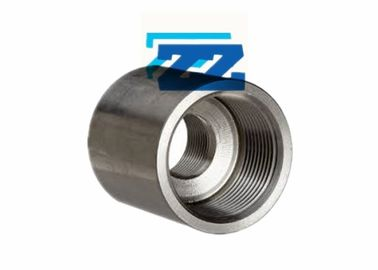 China 3 Inch Steel Pipe Coupling SS304L BS 3799 Threaded Coupler 6000 LB Pressure factory